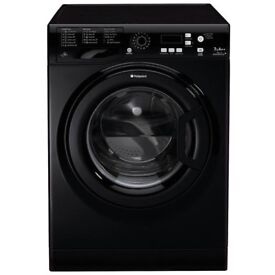 Black Hotpoint Aquarius WMPF 742 Washing Machine
