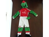 Arsenal Dinosaur Outfit for 2-3 year in Exc Condition £4
