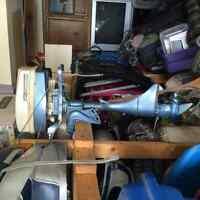 4.5 horse Eska outboard motor 1974 <50hrs on it