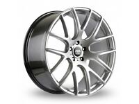 "18"" Staggered AVA Phoenix on tyres for an E90, E91, E92, E93 BMW 3 Series, Vauxhall Insignia ETC"