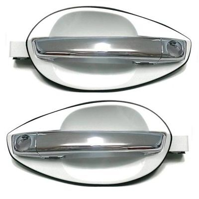 Chrome Door Outside Handle for 2002-2009 Hyundai Tiburon Right door Coupe