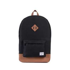 345e6553 Herschel Supply Co Backpack Heritage 21l Cotton Luggage Travel Black ...