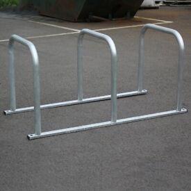6 Bike Stand - Sheffield Toast Rack - Galvanised