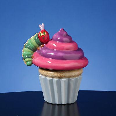 The Very Hungry Caterpillar On Cupcake Rotating SF Music Box Company Figurine