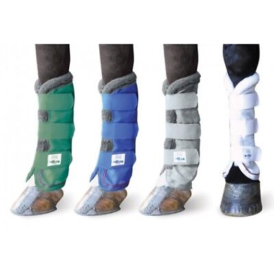 Got Flies? Mesh Leg Fly Wraps Protects Horses from Insects and Flies 4-Pack