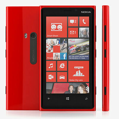 Nokia Lumia 920 - 32GB - 4G LTE - Red (AT&T GSM Unlocked ) Preowned Inbox