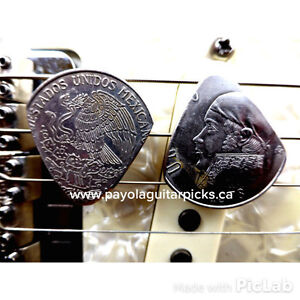 Guitar Picks Handcrafted From Vintage Coins