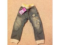 New boys Next jeans age 6