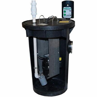 Zoeller 915-0005 - 12 Hp Sharkreg Sewage Grinder System 18x30 W High ...