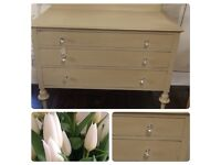 Beautiful Shabby Chic Chest of Drawers