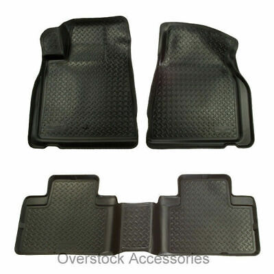 Husky Liners Classic Floor Mats Set Black for 1988-00 C/K 2500/3500 Extended Cab