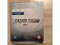 James Bond 007 DVD Boxed Set 22 movies