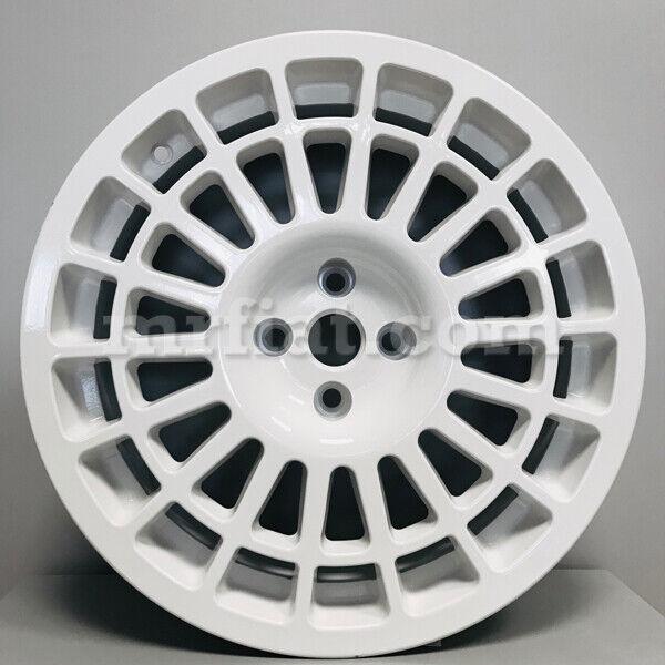 Lancia Delta Montecarlo Hf Integrale White Replica Wheel 8 X 17 4x98 Style 2 New