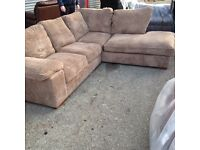 HARVEYS lullabye corner sofa ex display modell