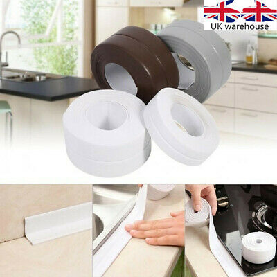 3.2M*22MM/38MM Bathroom Bath And Wall Sealing Strip Self Adhesive Tape Sink Edge
