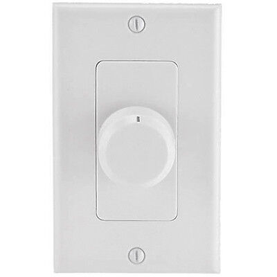 Rotary Speaker Volume Control Wall Mount Ceiling Speaker Controller Dial (New) Wall Mount Volume Control