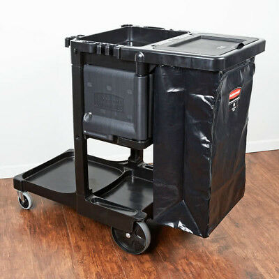 Rubbermaid Executive Series Janitorial Cleaning Cart 1861430