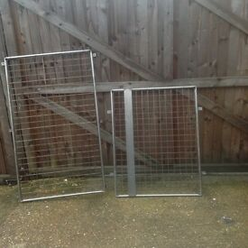 Security grills for doors