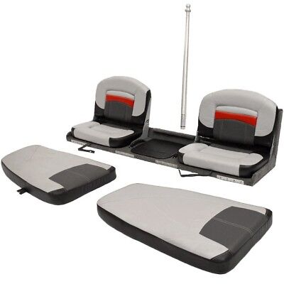 Tracker Boat Stern Bench Seat 185241-CPT | Targa Flip Deck 70 5/8 Inch