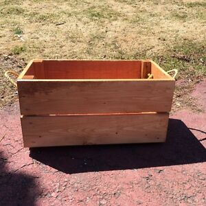 New Wood Box- REDUCED for quick sale