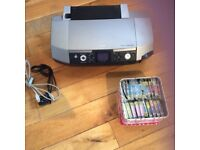 Epson printer and cartridges