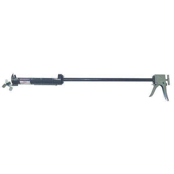 NEWBORN 377 Caulk Gun,X-Tender,Deluxe,45 In,29 oz.