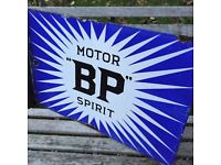 Enamel signs, Oil Can and Automobilia wanted