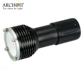 Scuba Torch Underwater Video Diving Light Archon W38VR