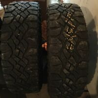 Wrangler Tires (2) Goodyear