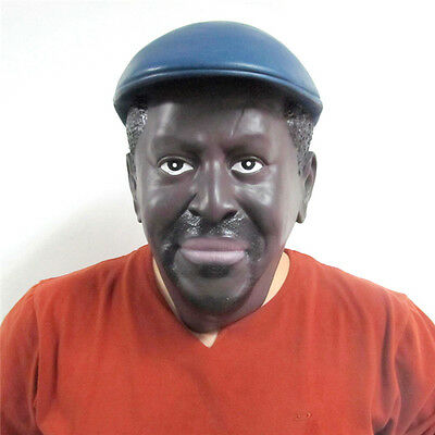 NEUF latex homme réaliste Masque horreur Halloween effrayant costume déguisement - Masques Horreur-halloween