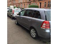 Vauxhall zafira 1.9cdti. 2008reg11months mot low miles