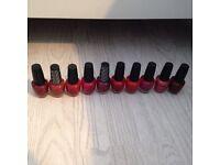 Job lot of over 50 designer nail polishes/varnish almost 50 bottles opi. Paid £500