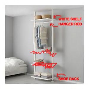 Ikea open wardrobe