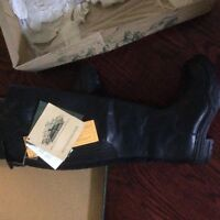 Brand new in box leather riding boot (equestrian)