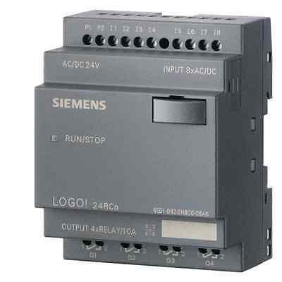 6ed1052-2hb00-0ba6 Siemens Logo 24rco Ac Logic Module 24v Uc