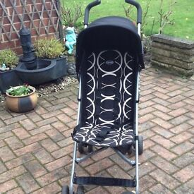 O'baby stroller - black and white