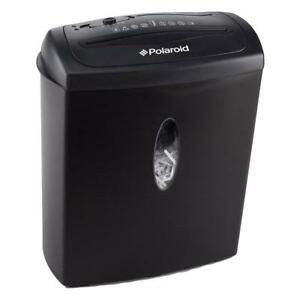 NEW Polaroid Paper Shredder With 8-Sheet Shred Capacity & CD Shred (PRS-F-04) DI15