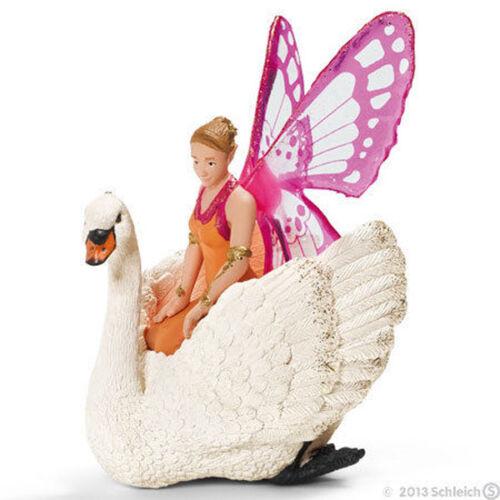 NEW SCHLEICH 70468 Zarinya Butterfly Elf with Swan - Bayala Elven Character