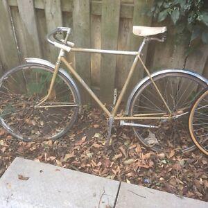Fixed gear bike from 70s