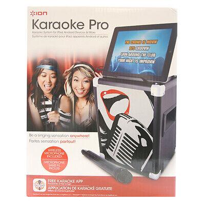 ION Audio IPA46 Karaoke Pro Professional Karaoke System for