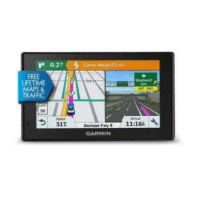 Garmin DriveSmart 51 LMT-S Auto GPS with Lifetime Maps & Traffic 010-01680-02