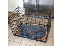Dog Crate - excellent condition, folds flat 75x48x55 cm