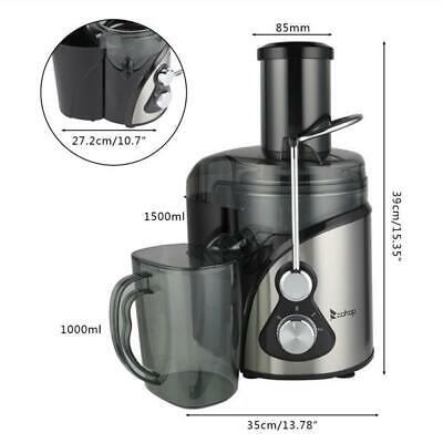 800W 1500ml Electric Juicer Fruit Vegetable Blender Juice Ex