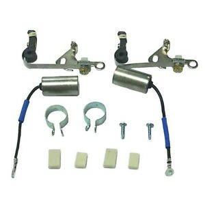 DUAL IGNITION POINTS SET,  MERCURY OUTBOARDS  1950's    NEW