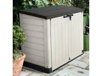 Keter Store It Out Max Outdoor Plastic Garden Storage Shed Bicycles 240L Patio