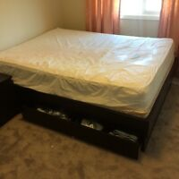 Ikea malm with storage bedroom set !! Asking $400