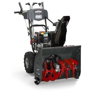 New Briggs & Stratton 208cc 24-in Two-Stage Gas Snow Blower