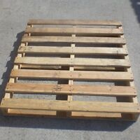 Wood pallets in good condition for sale! Most 48x40