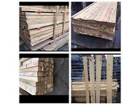 Reclaimed timber wood planks