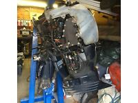 Evinrude 60 hp etec outboard for spares or repair